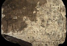 Photo of Egyptian Archaeologists Discover Stela of Liberation Queens in Aswan