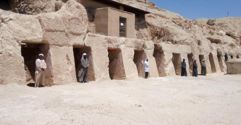 Photo of Ancient Egyptian Soldier's Tomb Discovered in Luxor
