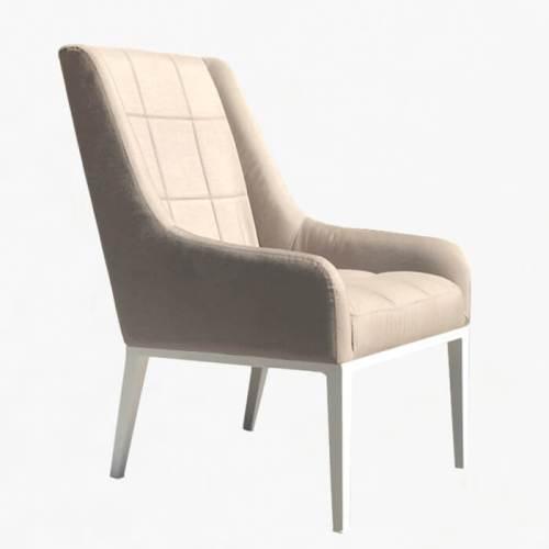 Air Chair Taupe White