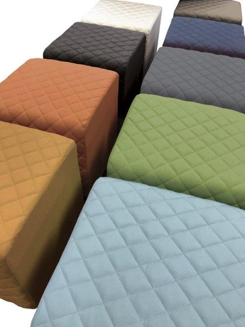 foot pouffs all colours
