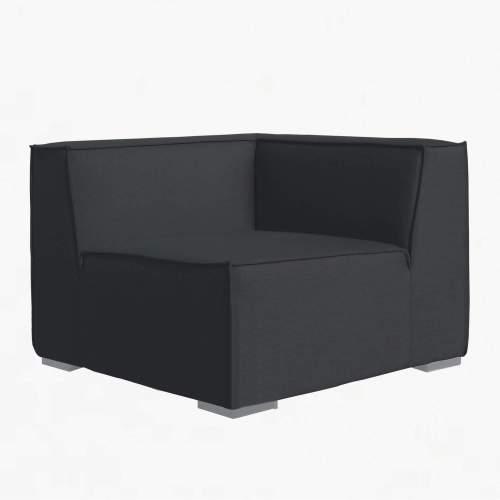 Sahara Corner Seat charcoal