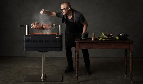 everdure fusion electric ignition charcoal bbq 2