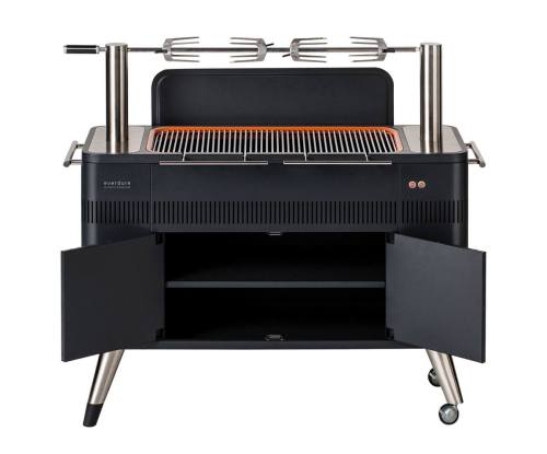 everdure hub electric ignition charcoal bbq 6