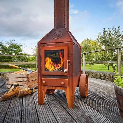 rb73 bijuga outdoor wood stove 1