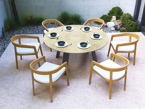 westminster coast 150cm dining table 5