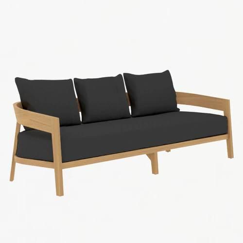 Churchill 3str Sofa Teak Slate