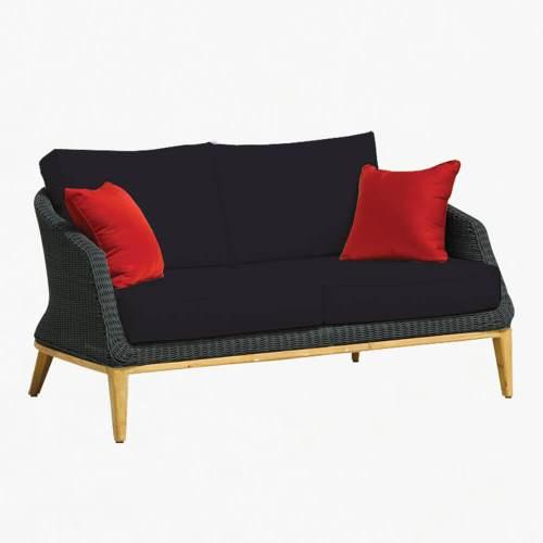 Grace 2str sofa ebony slate