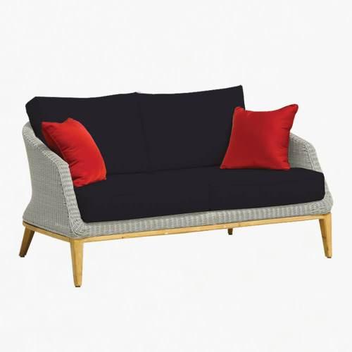 Grace 2str sofa platinum slate