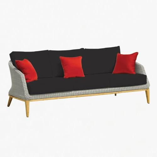 Grace 3str sofa platinum slate