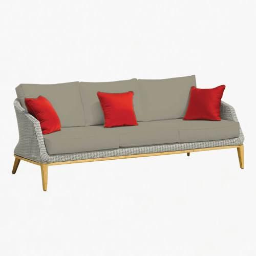 Grace 3str sofa platinum stone