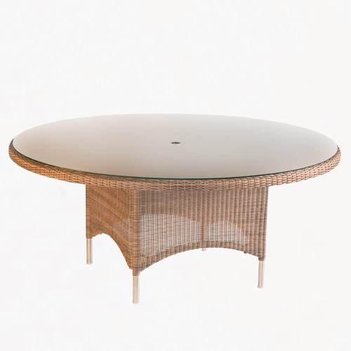 valencia round table sand