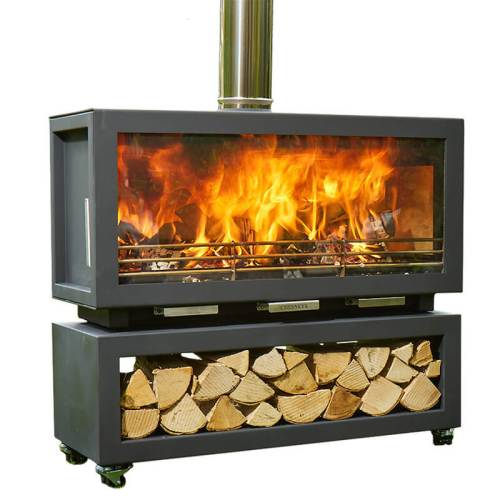 chesneys clean burn xl outdoor wood stove