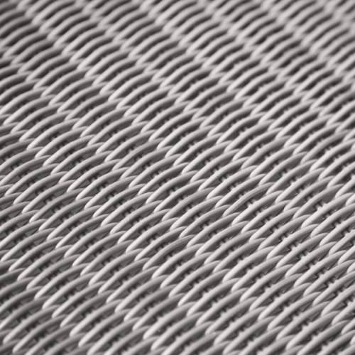 divano viro weave platinum swatch