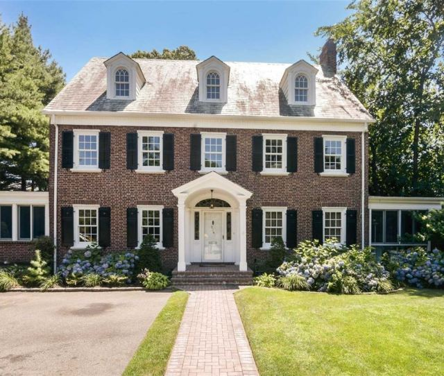Beautiful Brick Colonial In Convenient Location