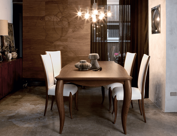 Nouveau designer Italian dining table
