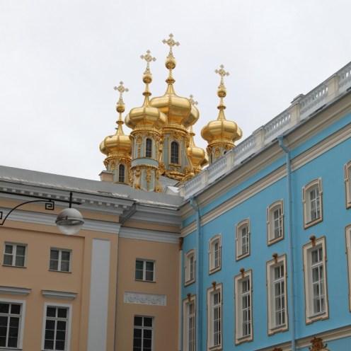 Goldene Kuppeln vom Katharinenpalast