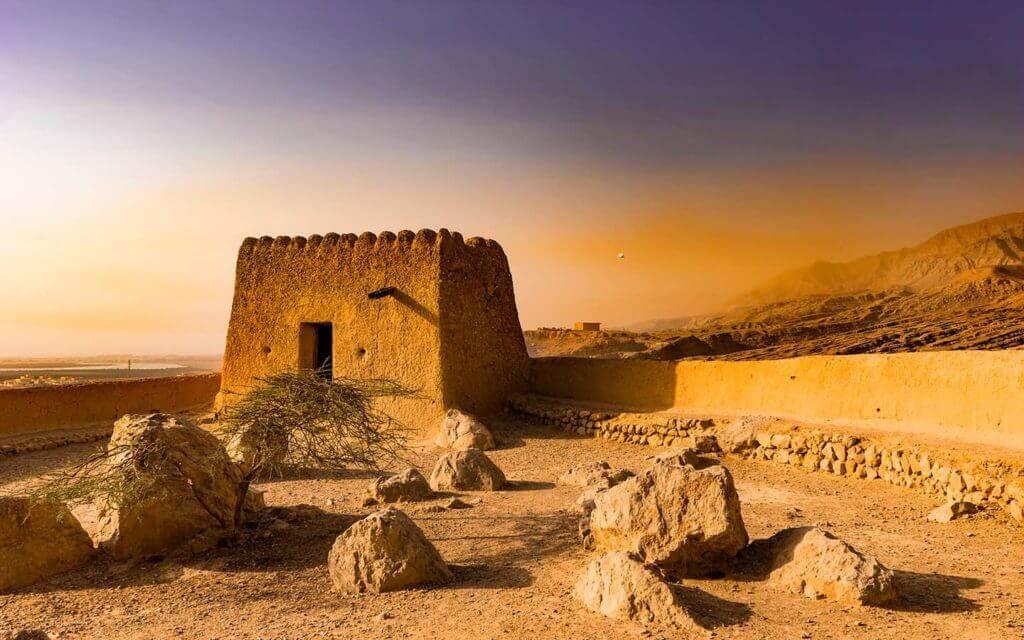 Al Dhayah Fort - RAK - Luxuria Tours
