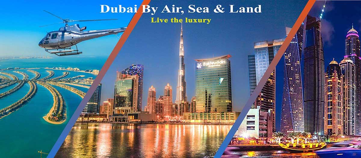 Dubai By Air, Sea & Land - Luxuria Tours & Events