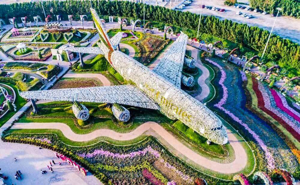 Dubai Miracle Garden A350 - Luxuria Tours & Events
