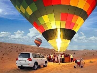 Hot Air Balloon - Luxuria Tours& Events