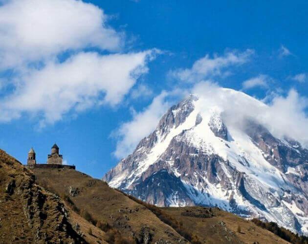 Mount Kazbek Georgia ورجيا جبل كازبيك - Luxuria Tours & Events