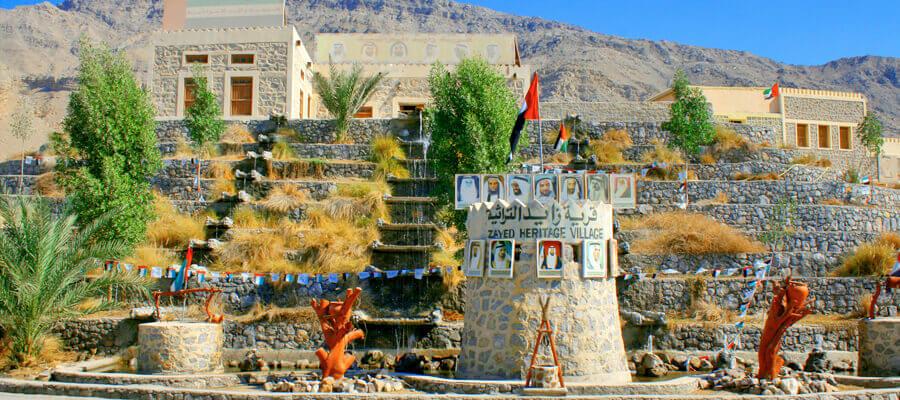 ZAYED HERITAGE VILLAGE, RAK - Luxuria Tours & Events