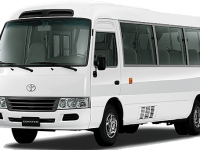 Toyota Coaster - Luxuria Tours & Events