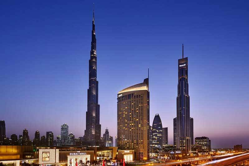 The Address Dubai Mall - Luxuria Tours & Events