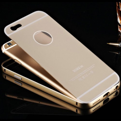 Thin Metal Frame with Acrylic Back iphone case 3
