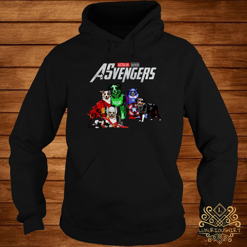 Australian Shepherd Asvengers hoodie