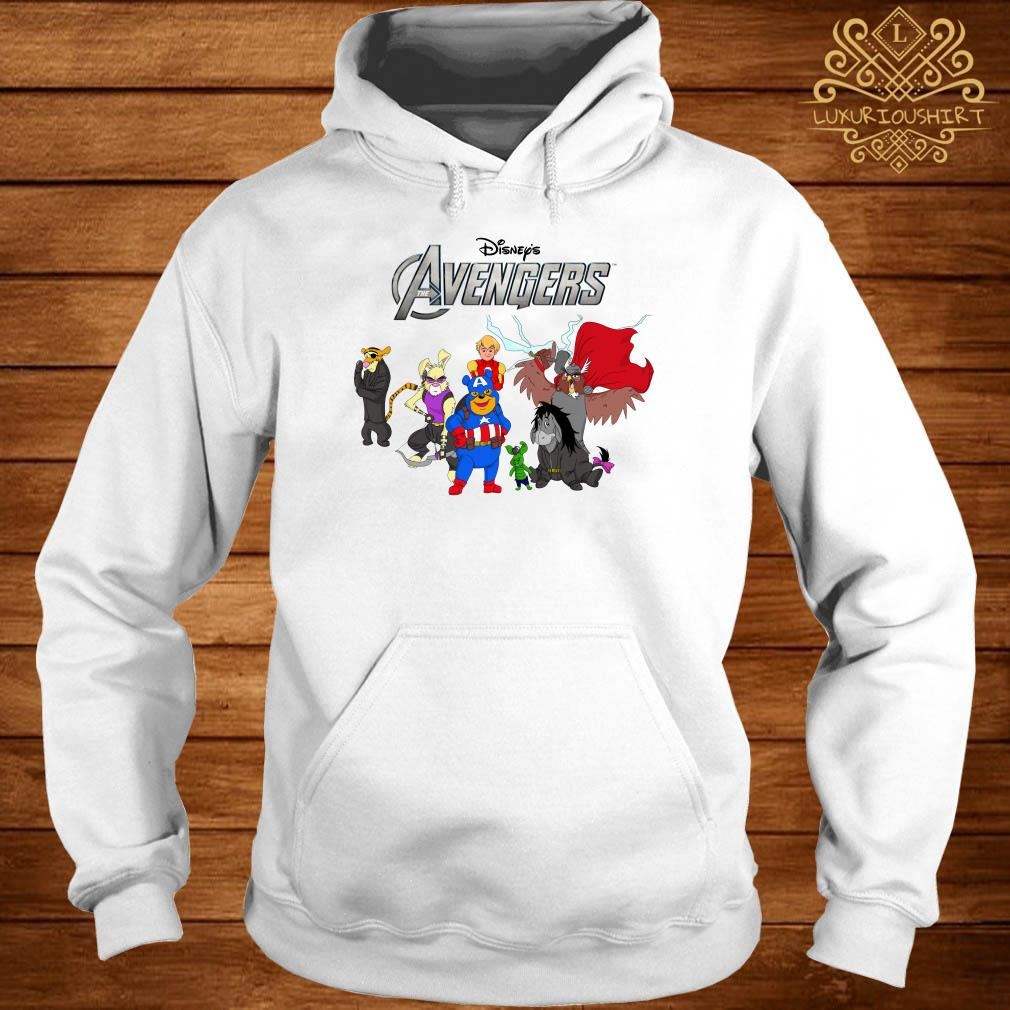 Disney Avengers Winnie the Pooh style hoodie