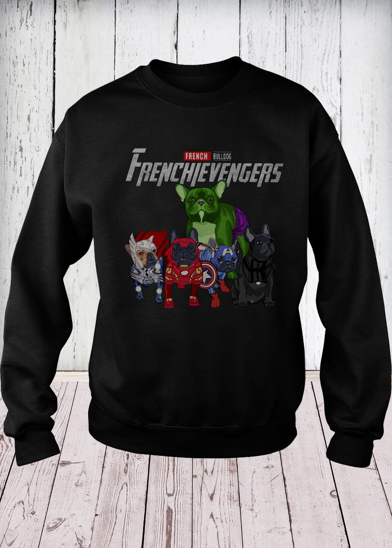 Frenchievengers French Bulldog sweater