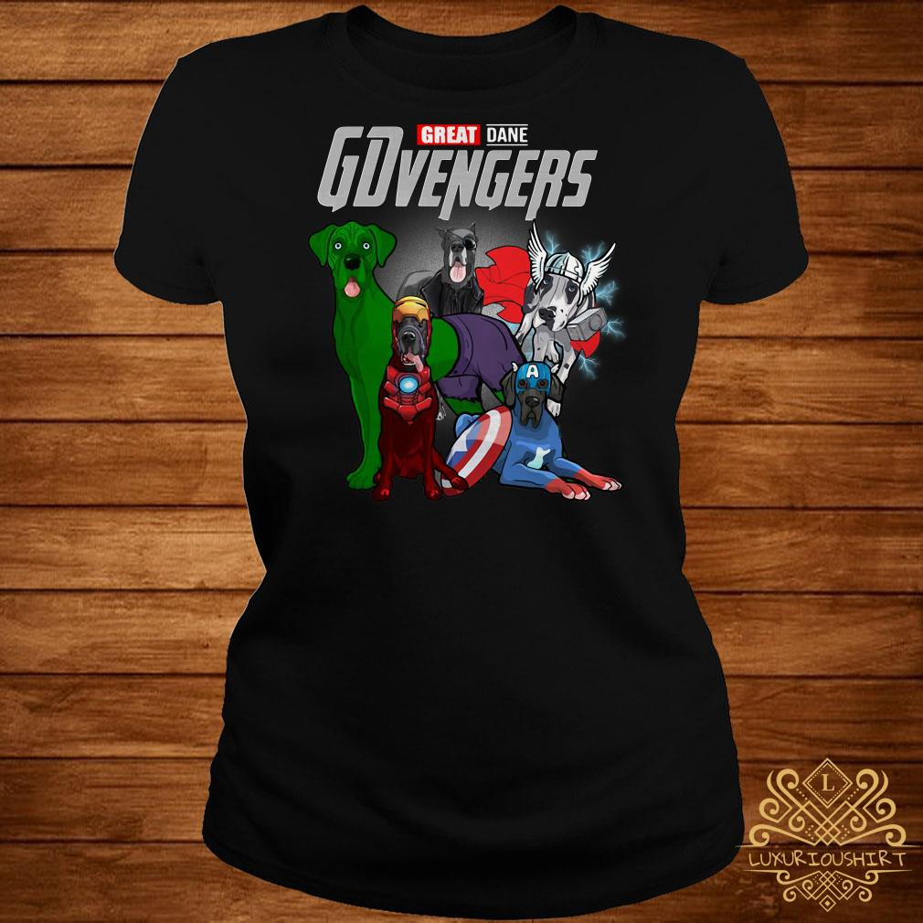 GDvengers Great Dane Avengers Endgame ladies tee