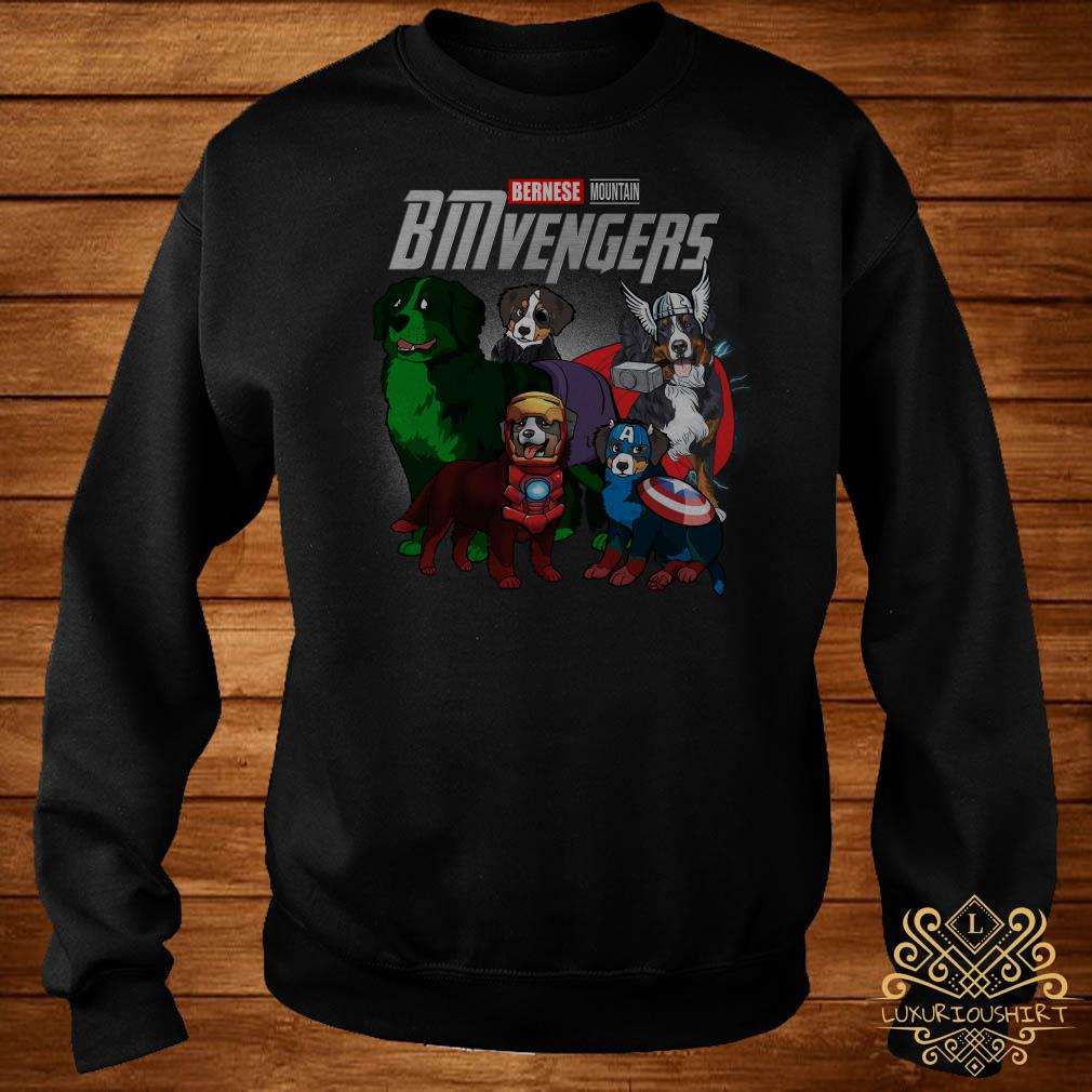 Marvel Avengers Bernese Mountain BMvengers sweater
