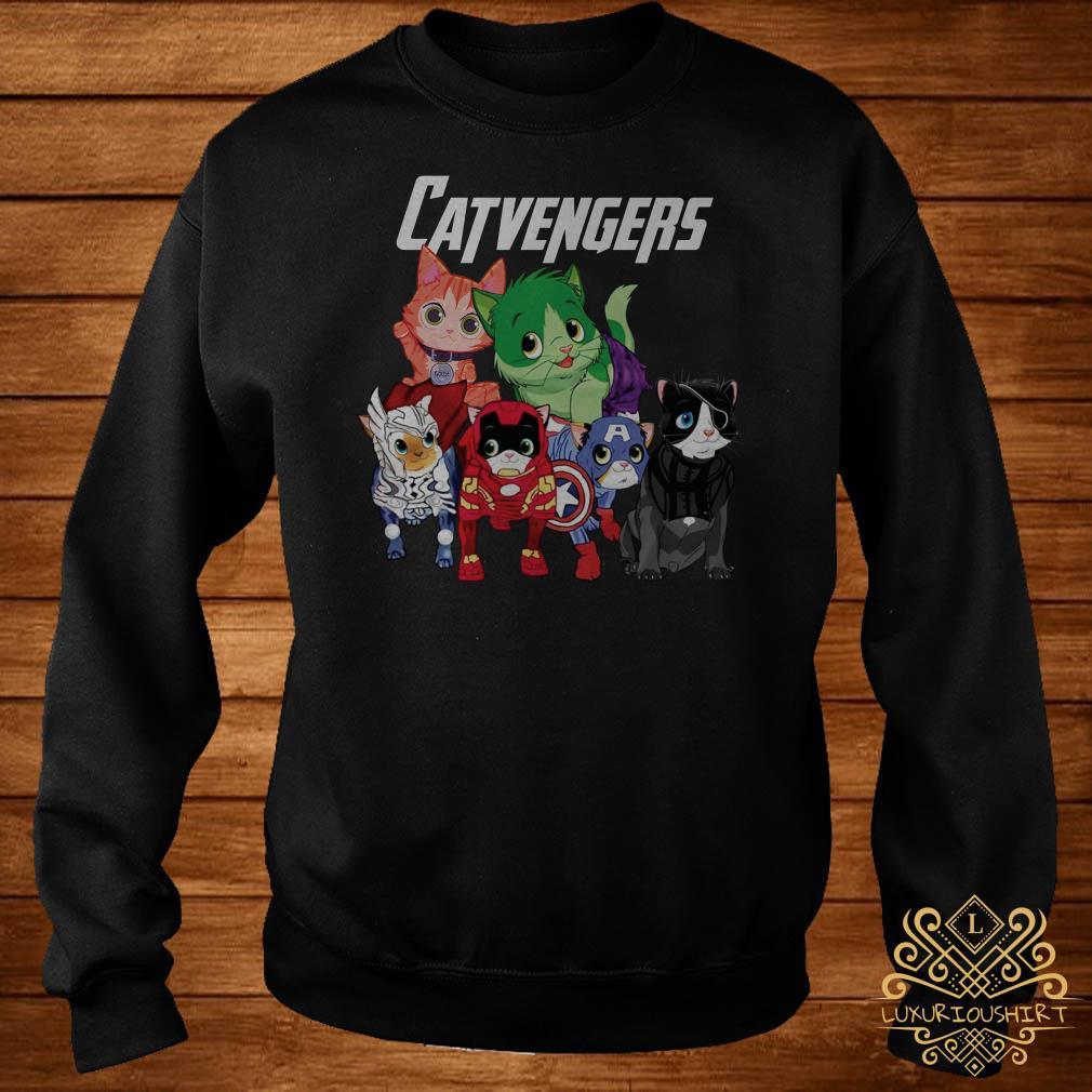 Marvel Avengers Endgame Catvengers sweater