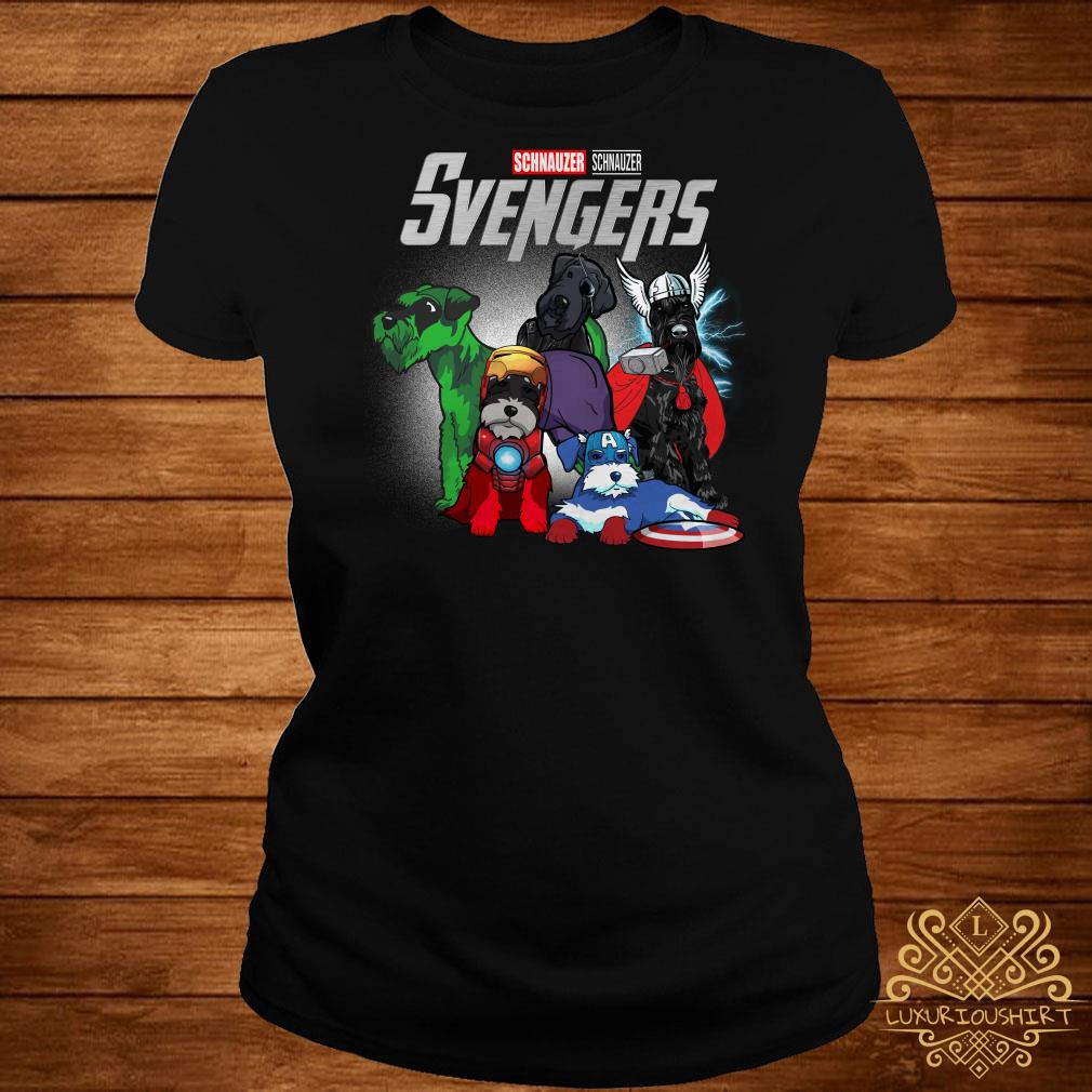 Marvel Avengers Schnauzer Svengers ladies tee