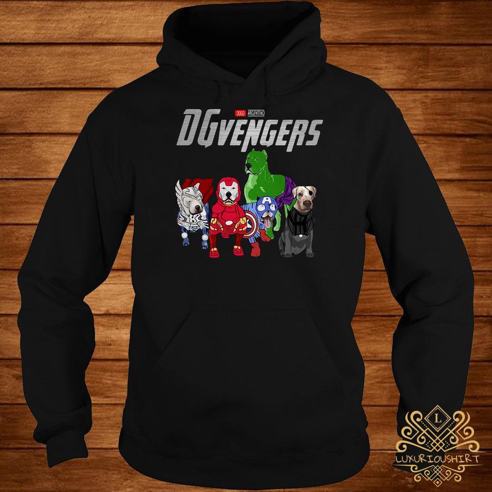 Marvel Dogo Argentino DGvengers hoodie