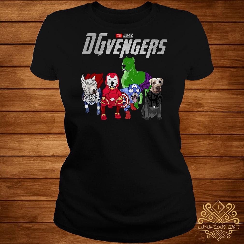 Marvel Dogo Argentino DGvengers ladies tee