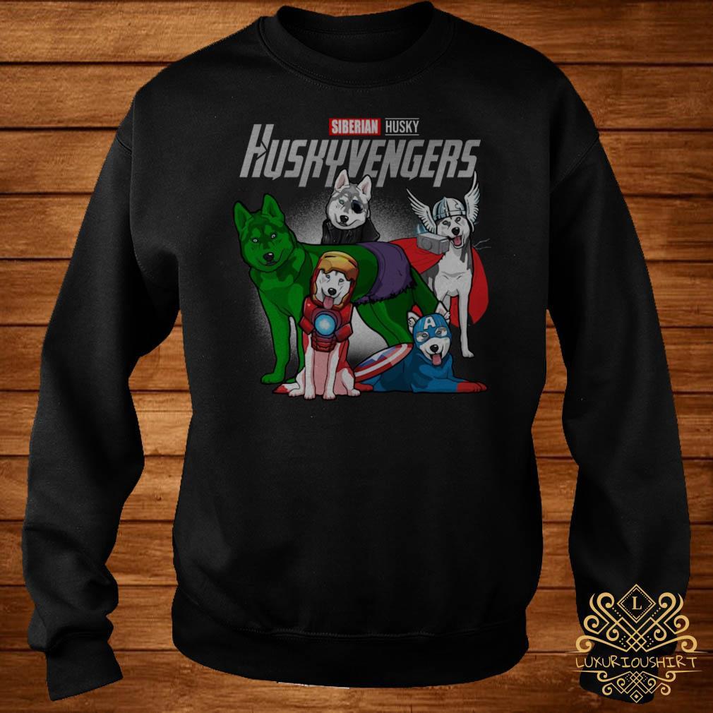 Marvel Siberian Husky Huskyvengers sweater