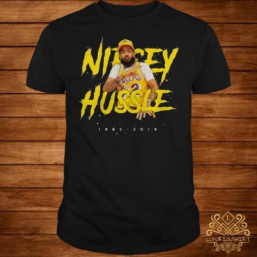 Nipsey Hussle rip 1985-2019 respect him shirt
