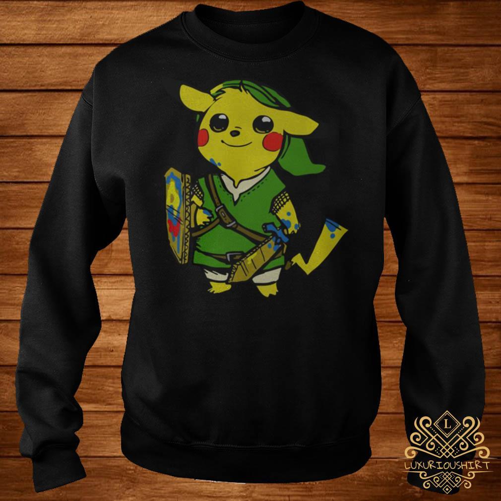 Pikachu link the legend of Zelda sweater