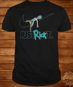 Rick and Morty Nike just rick it shirt