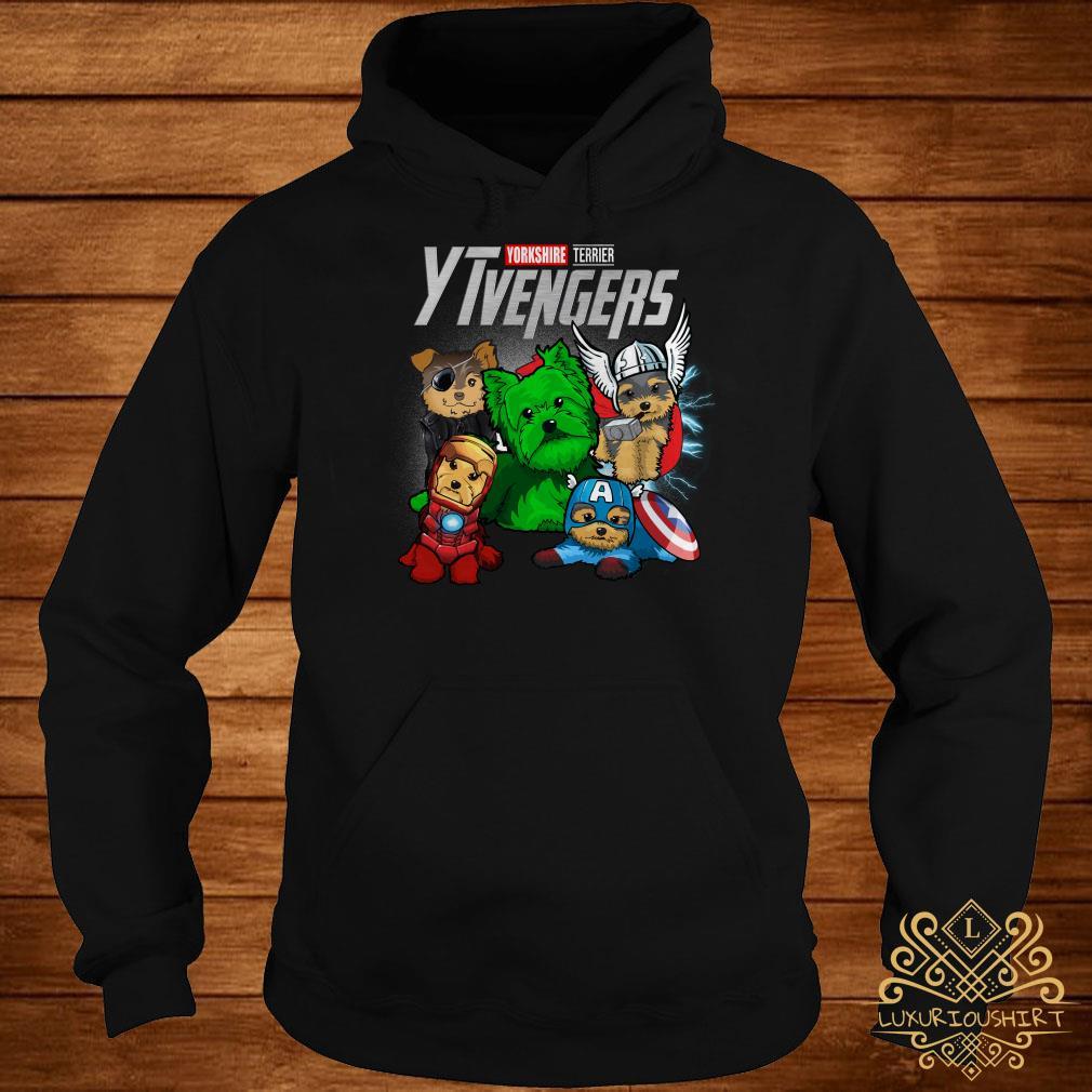 Yorkshire Terrier YTvengers hoodie