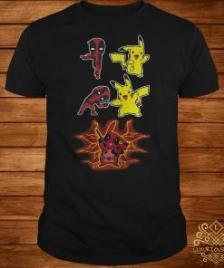 Deadpool fusion Pikachu become Pikapool shirt