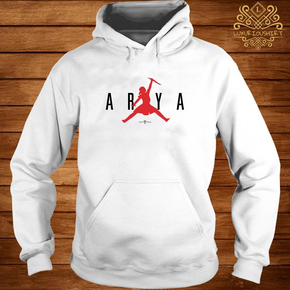 Game of thrones air arya hoodie