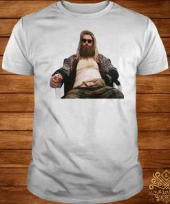 Marvel Avengers endgame Fat Thor sit shirt
