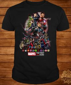 Marvel Avengers The first ten years shirt
