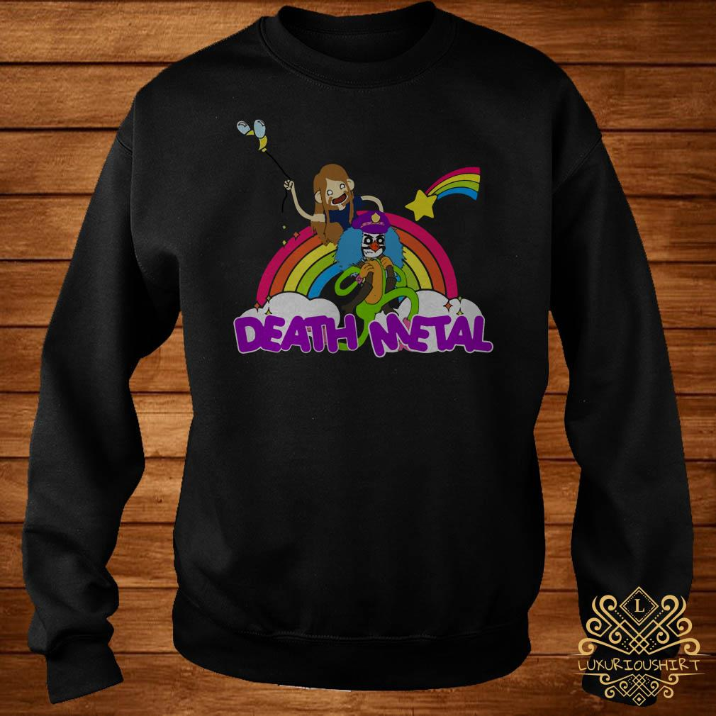 Toki and Dr Rockso death Metal sweater