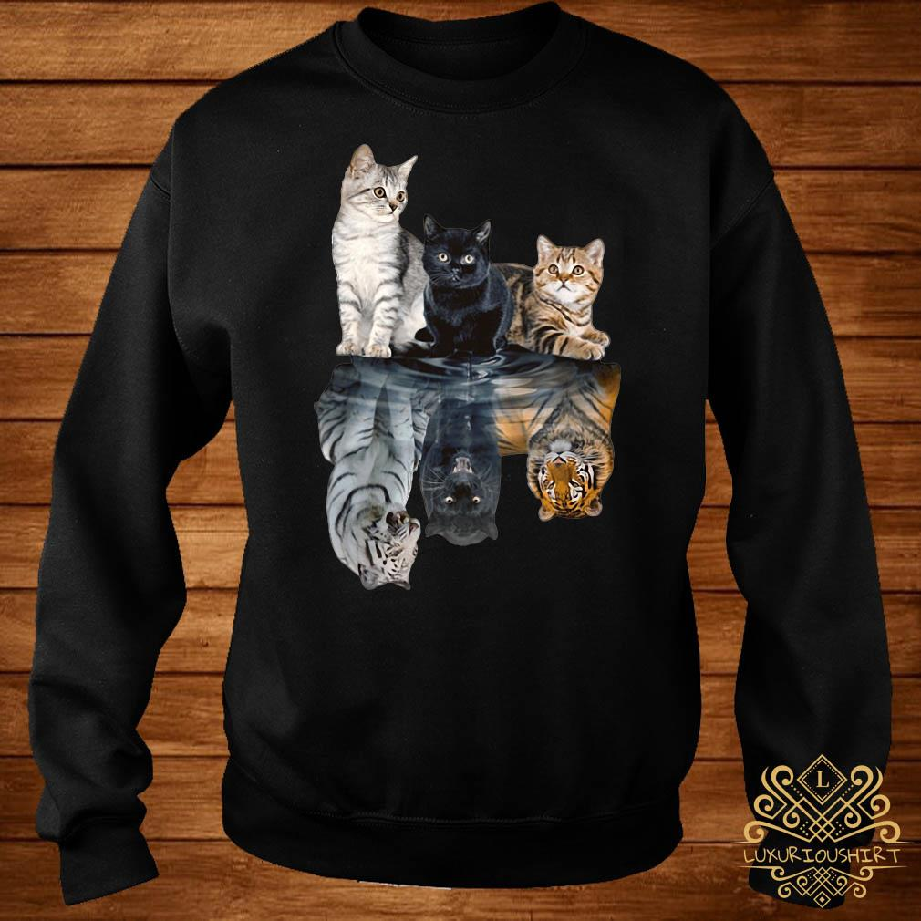 Cats always believe in yourself sweater