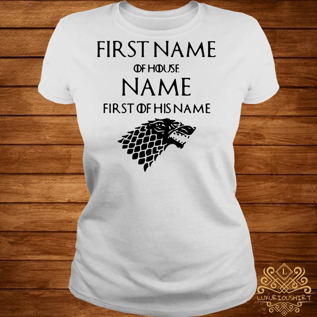 Game of Thrones Jacob of house Williams first of his name ladies tee